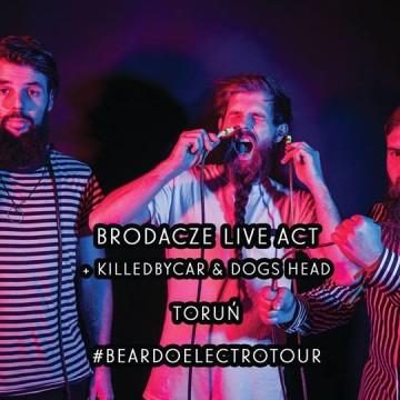 Brodacze live act wracają do Torunia, aby zagrać z Killedbycar i Dogs Head. [fot. wydarzenie na Facebooku]