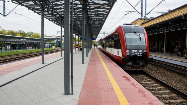 Między Chełmżą a Toruniem Wschodnim powstanie nowy przystanek kolejowy, zdjęcie poglądowe [fot. Angelika Plich].